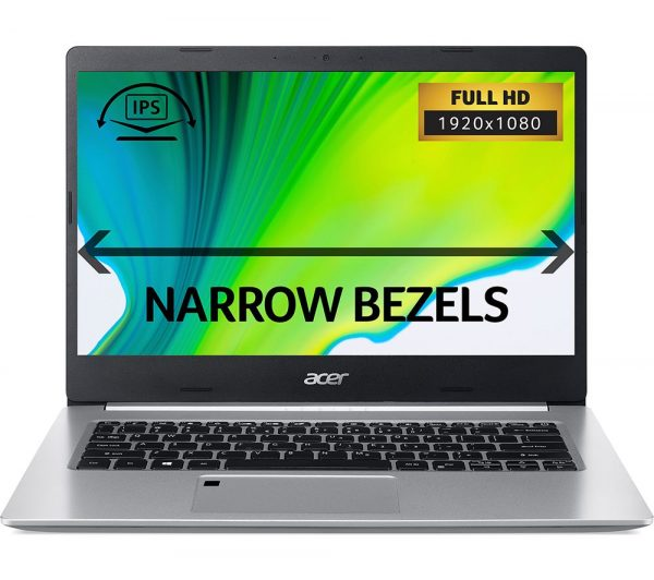 "ACER Aspire 5 A514-52 14"" Laptop - Intel®Core™ i5, 256 GB SSD, Silver, Silver"