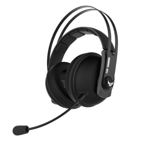 Asus Gaming H7 Wireless Gaming Headset, 53mm Drivers, 15+ Hour Battery Life, Pressure-reducing Cushion, Touch Controls, Gun...