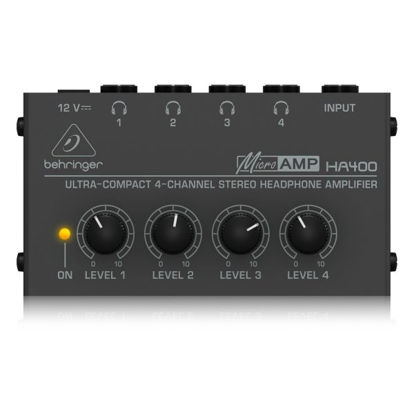 Behringer MicroAMP HA400 Headphone Amplifier