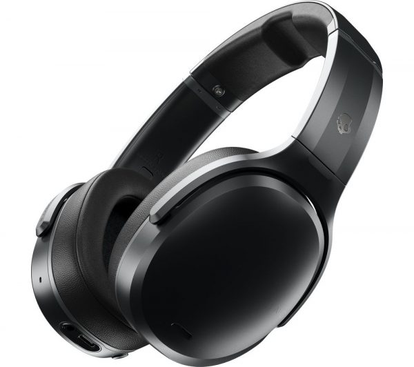 Crusher ANC Wireless Bluetooth Noise-Cancelling Headphones - Black, Black