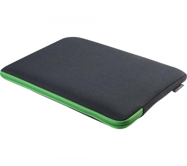 "GECKO COVERS Universal ZSL17C7 17"" Laptop Sleeve - Grey & Green, Grey"
