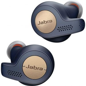 JABRA Elite 65t Wireless Bluetooth Headphones - Copper Blue, Blue