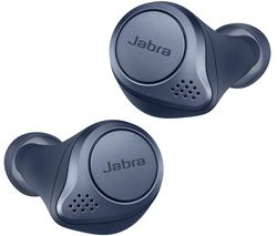 JABRA Elite Active 75T Wireless Charging Enabled Wireless Bluetooth Earphones - Navy