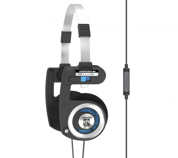 KOSS Porta Pro Headphones - Black & Blue, Black