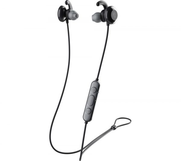 Method Active Wireless Bluetooth Sports Earphones - Black, Black