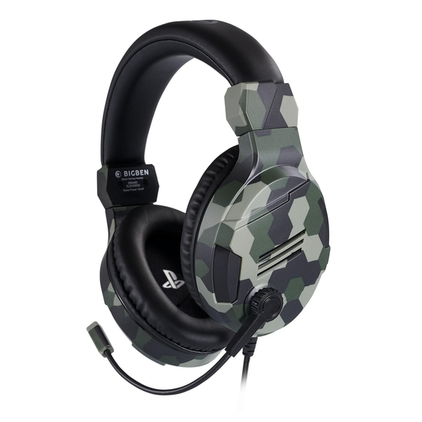 Official Licensed Camo Stereo Gaming Headset for PS4