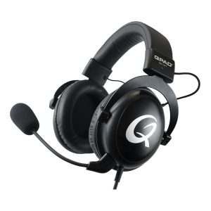 Qpad Qh-91 High End Stereo Gaming Headset Closed Ear Noise Cancelling Detachable Microphone