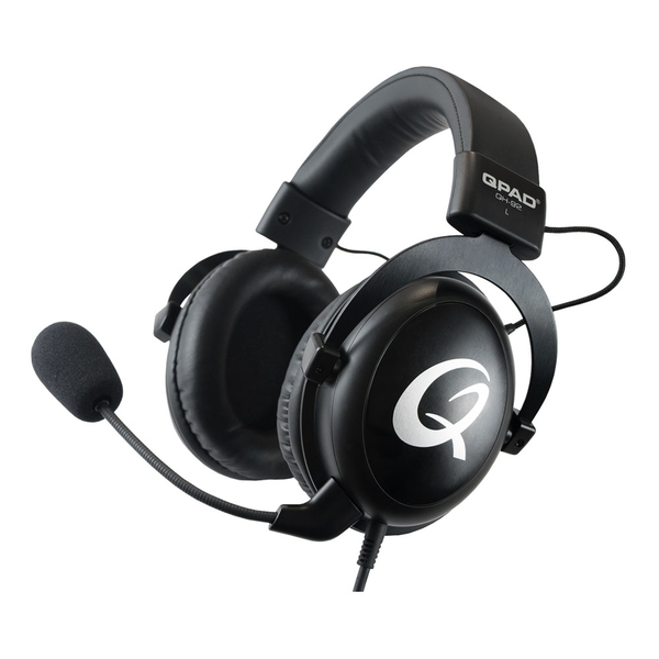 Qpad Qh-92 High End Stereo Gaming Headset Closed Ear Noise Cancelling Detachable Microphone Multi-Platform