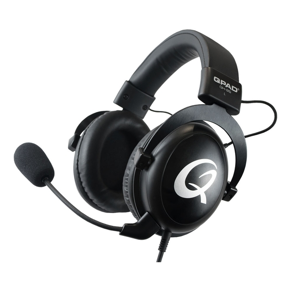 Qpad Qh-95 Pro Gaming Premium Stereo and 7.1 USB Closed Ear Noise Cancelling Detachable Microphone Gaming Headset