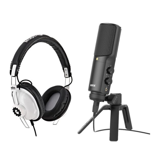 Rode NT-USB Microphone with Headphones