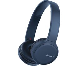 SONY WH-CH510 Wireless Bluetooth Headphones - Blue