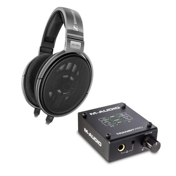 Sennheiser HD 650 Audiophile Open Dynamic Headphones with Transit DAC