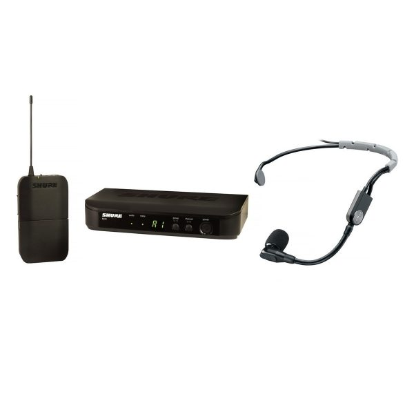 Shure BLX14E/SM35-S8 Wireless Headset System with SM35