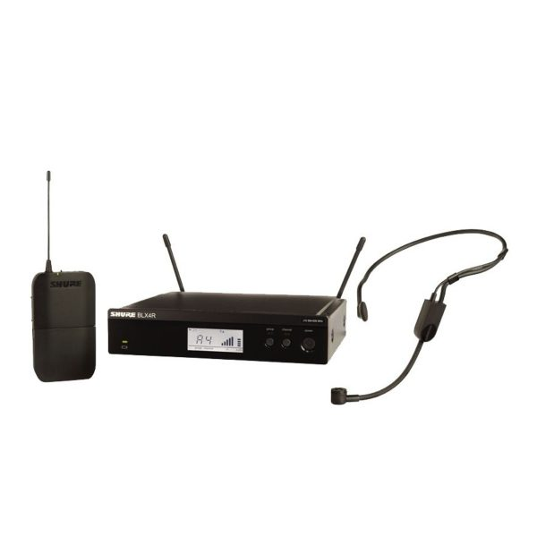 Shure BLX14RE/P31-S8 Rack Mount Wireless Headset System with PGA31