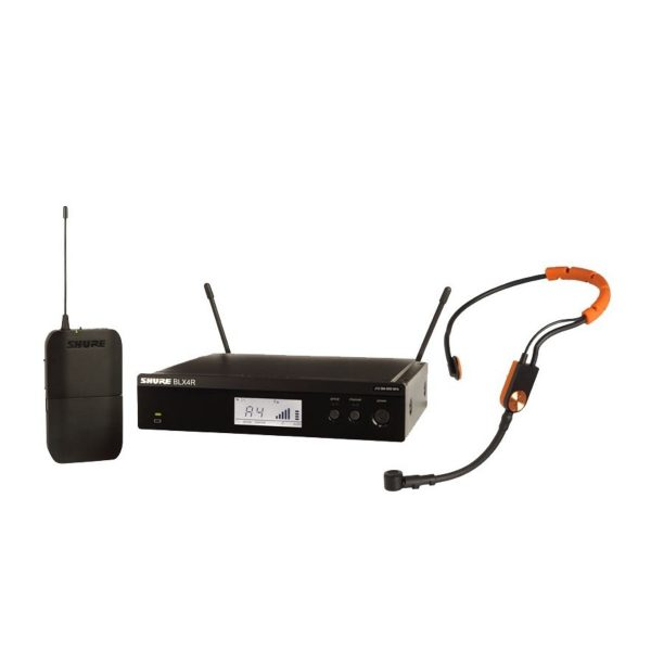 Shure BLX14RE/SM31-S8 Rack Mount Wireless Headset System with SM31FH