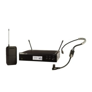 Shure BLX14RE/SM35-S8 Rack Mount Wireless Headset System with SM35