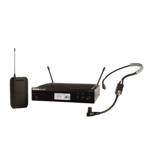 Shure BLX14RE/SM35-T11 Rack Mount Wireless Headset System with SM35