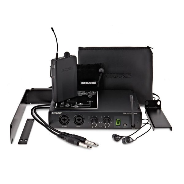 Shure PSM200-H2 Wireless In-Ear Monitor System with SE112 Earphones
