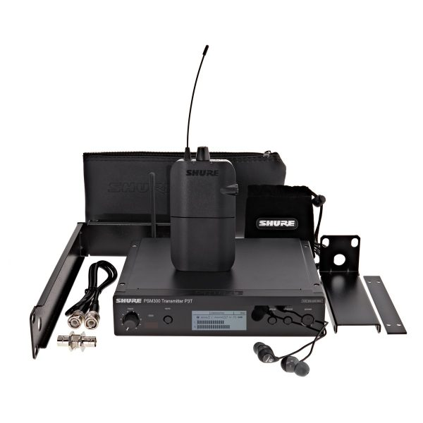 Shure PSM300-K3E Wireless Monitor System with SE112 Earphones