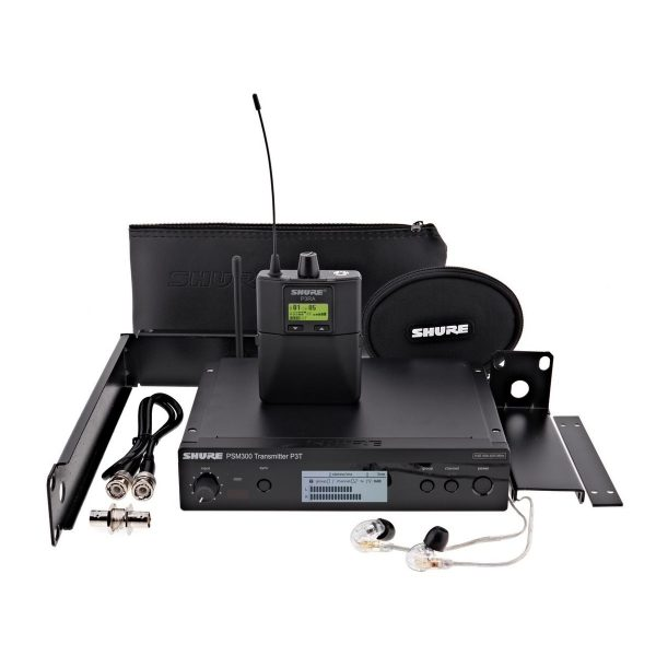 Shure PSM300-S8 Premium Wireless Monitor System with SE215 Earphones