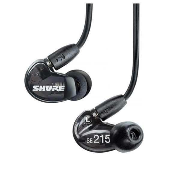 Shure SE215 Sound Isolation Earphones Black