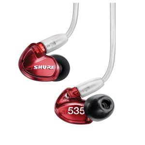 Shure SE535 Limited Edition Sound Isolating Earphones Red