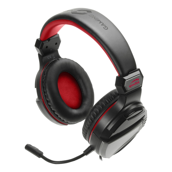 Speedlink Neak Stereo Gaming Headset with Flexible Microphone Dual 3.5mm Jack Plug 2.2m Cable
