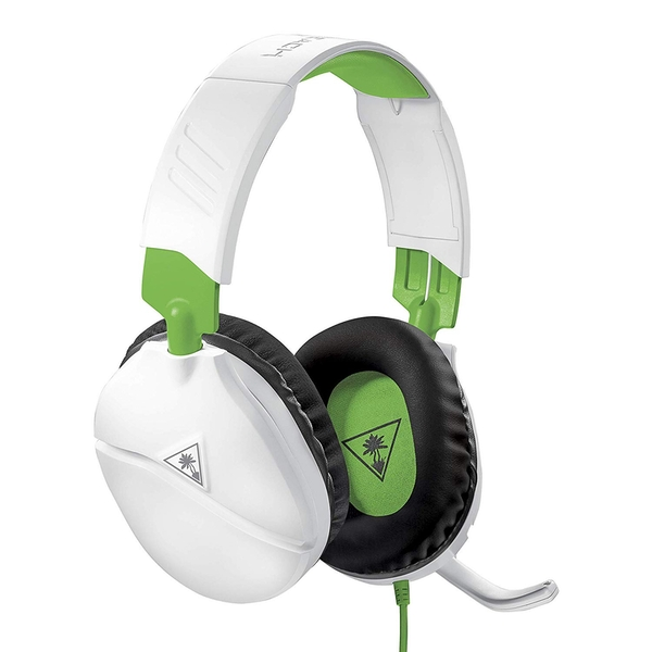 Turtle Beach Recon 70X White Gaming Headset for Xbox One, PS4, Nintendo Switch And PC