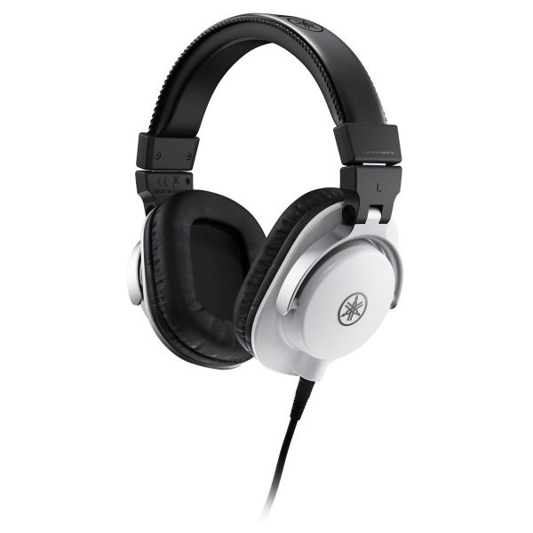 Yamaha HPH-MT5 Studio Monitor Headphones White