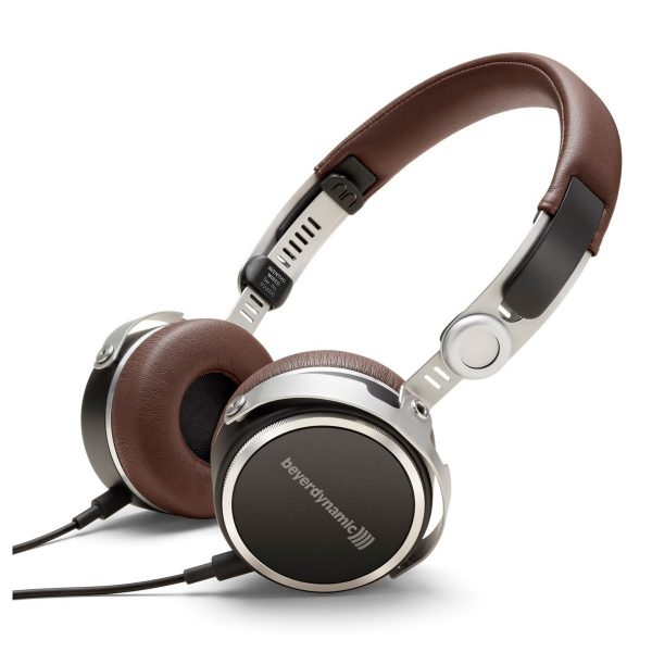 beyerdynamic Aventho Wired Tesla Headphones Brown
