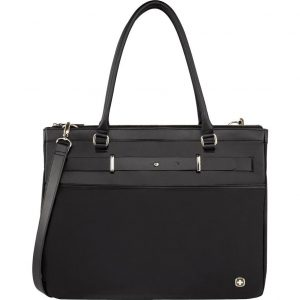 "WENGER Zoe 16"" Laptop Bag - Black, Black"