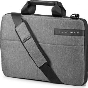 "HP Signature Slim Topload 14"" Laptop Case - Grey, Grey"