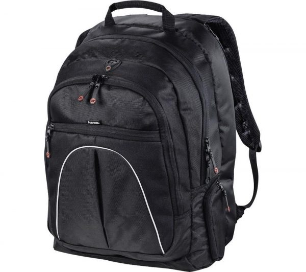 "HAMA Active Line Vienna 17.3"" Laptop Backpack - Black, Black"