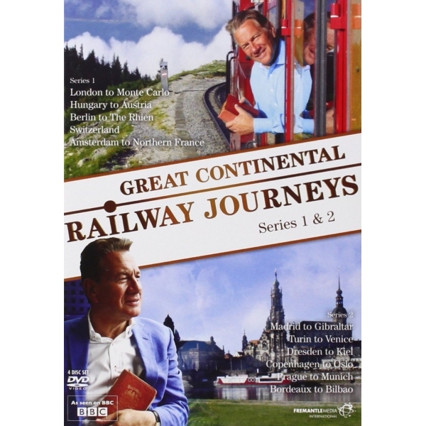 Great Continental Railway Journeys: Series 1 And 2 DVD