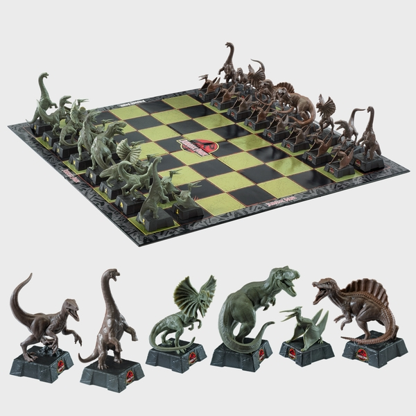 Jurassic Park Chess Set By The Noble Collection