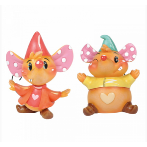 Miss Mindy Jaq and Gus Gus Figurine