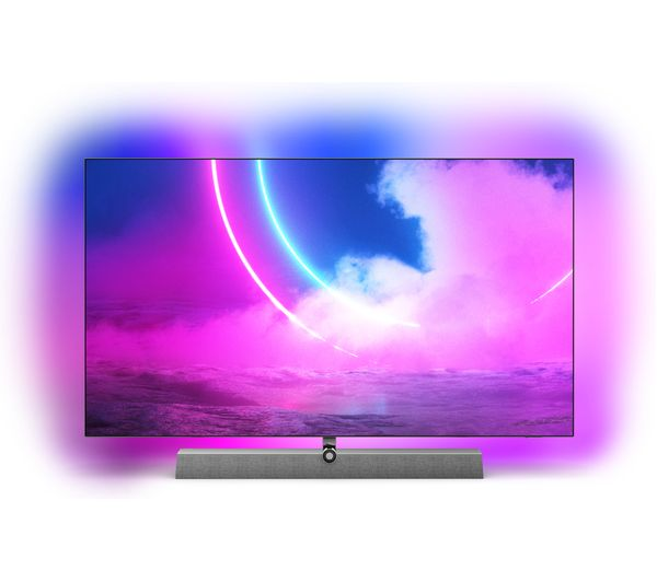 """PHILIPS Ambilight 55OLED935/12 55"""" Smart 4K Ultra HD HDR OLED TV with Google Assistant"""