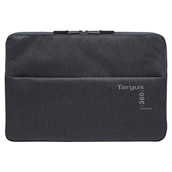 Targus 360 Perimeter Travel and Commuter Laptop Sleeve Protector for 11.6-13.3-Inch Laptop, Ebony (TSS94704EU)