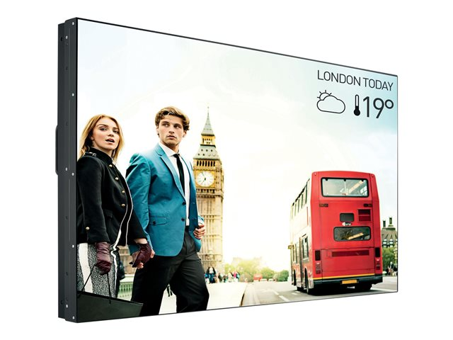 """Philips Signage Solutions Video Wall Display 55BDL3005X X-Line Professional Videowall - 55"""" Class (54.6"""" viewable) LED-backlit LCD display - Full HD"""