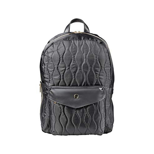 """Wenger 605497 MARIEMAE 16"""" Womens Backpack, Padded Laptop Compartment with Essentials Organizer in Black"""