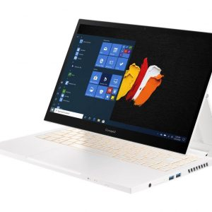 ACER ConceptD 3 Ezel 14″ 2 in 1 Laptop – Intel®Core™ i7, 512 GB SSD, White, White