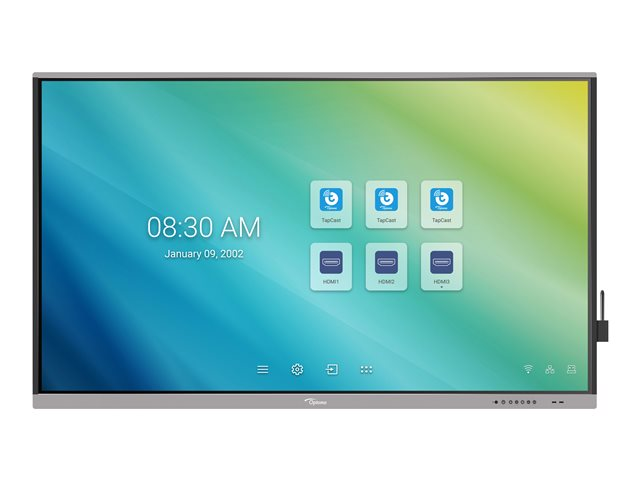 Optoma Creative Touch 5651RK 5 Series – 65″ LED-backlit LCD display – 4K